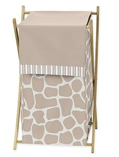BabyKids Clothes Laundry Hamper for Giraffe Bedding by Sweet Jojo Designs -- Click image for more details.Note:It is affiliate link to Amazon. #NewMommyTips