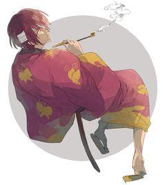 Tags: Gintama , Takasugi Shinsuke
