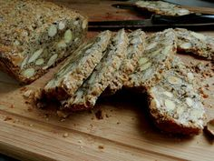 Nut and Seed Biscotti