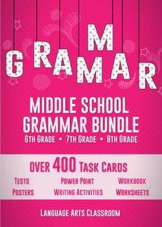 Ultimate Middle School Grammar Bundle