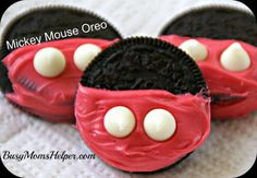 Busy Mom's Helper: Family fun, food, recipes and crafts.: Mickey Mouse Oreo