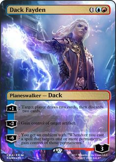 Dack Fayden If you have any suggestions for a card you would like to see let me know.