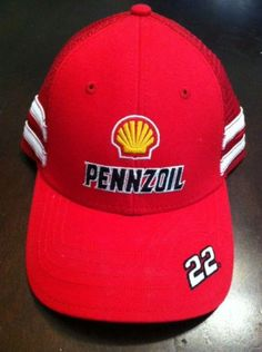 Pennzoil, Penske Racing, Joey Lagano, Team Issued, Pit crew/Driver hat!