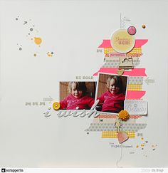 I Wish, from Be Stamped. LOVE the wat she used washi tape!!