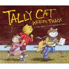Teaching Graphs -- Best Children's Books about Graphing Tally Cat Keeps Track -- a clever children's book for teaching tallying (data collection/graphing) in Gr. Graphs -- Best Children's Books about Graphing Tally Cat Keeps Track -- Math Literature, Math Books, Reading Books, Math Classroom, Kindergarten Math, Classroom Ideas, Classroom Resources, Future Classroom, Learning Resources