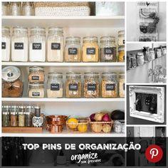 Bom dia!! Sabe aquelas imagens lindas e criativas que vemos na internet e pensamos: como não pensei nisso antes? Pensando nessas ideias criativas com a ajuda do Pinterest você verá no blog os 5 TOP Pins de Organização para você se inspirar. Espia só! http://ift.tt/1DpCjS5 #pinterest #toppins #organização #inspiração #organizesemfrescuras #ideias #casa
