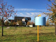 Rehbergerweg 24: Die Glocke am Vitra Campus Weil am Rhein © Welz