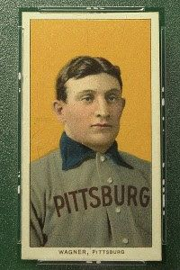 Honus Wagner card sells for $2.1M at auction  The most coveted baseball card of all-time proved its worth once again, as the 1909-11 T206 Honus Wagner card sold for $2.1 million in an online auction.  #pifa #sportsmeorabiliaauctions #honuswagnercard