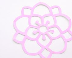 Omiyage Blogs: The Kirigami Project - Week Eleven - Fancy Blossom...