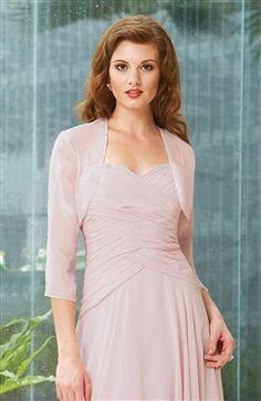 3/4-length Sleeve Chiffon #Bolero & #Shawls Style Code: 06776 $29