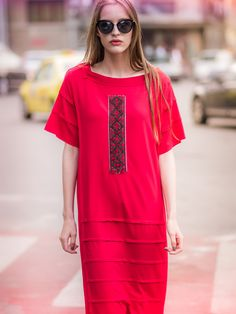 #Design #traditional #vintage #embrodery #romanian #styling  #outfit Shirt Dress, T Shirt, Traditional, Design, Outfits, Collection, Vintage, Dresses, Fashion