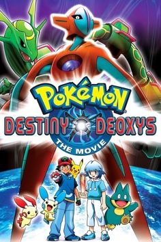 Pokemon: Destiny Deoxys on DVD from Echo Bridge Home Entertainment. Directed by Kunihiko Yuyama. More Anime, International and Fantasy DVDs available @ DVD Empire. Free Cartoon Movies, Cartoon Online, Free Cartoons, Pokemon Film, Pokemon Movies, New Pokemon, Pokemon Sketch, Movies To Watch Online, New Movies