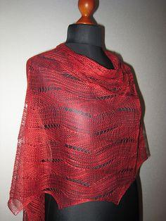 Ravelry: Wellen in Pink/Scarf FREE pattern by Sue Berg