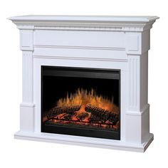 Dimplex Essex Electric Fireplace | WoodlandDirect.com: Indoor Fireplaces: Electric #LearnShopEnjoy