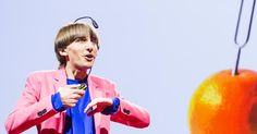 Artist Neil Harbisson was born completely color blind, but these days a device…
