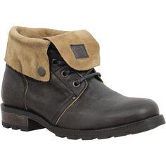 Boots+Palladium+Update+cuir+Femme+Black+Black+150.00+€