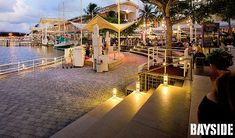 Bayside Marketplace is another great shopping spot located in downtown Miami