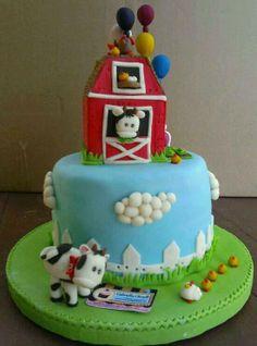Farmer cake! 100% Handmade and edible