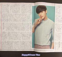 Lee Jong Suk In A Japanese Magazine June 2015    Cr: DC