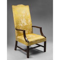 federal style armchair