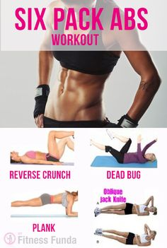 Six pack abs workout for women at home. #ab_workouts