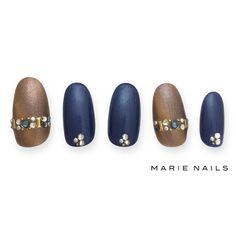 #マリーネイルズ #marienails #ネイルデザイン #かわいい #ネイル #kawaii #kyoto #ジェルネイル#trend #nail #toocute #pretty #nails #ファッション #naildesign #awsome #beautiful #nailart #tokyo #fashion #ootd #nailist #ネイリスト #ショートネイル #gelnails #instanails #newnail #cool #blue #brown