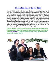 Thành lập công ty tại hà tĩnh -Thành lập doanh nghiệp