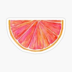 California, Grapefruit, The Creator, Stickers, Orange, Food, Watercolor Painting, Presents, Artists