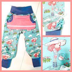 Hosen - Babyherz Hose Vintage Girls Summer Gr. 98/104 mint - ein Designerstück…