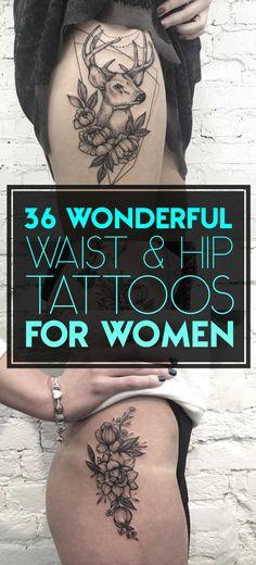Hip-tattoo-designs-for-women.jpg 635×1,400 pixels