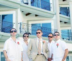 Fun photos of the groomsmen :)
