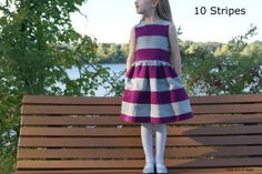 customizing with oliver + s: the 10 stripes fairy tale dress