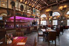 The bar at Hard Rock Cafe Bengaluru, India. #hardrock #india