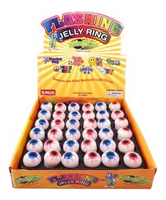 Loving this Light-Up Eyeball Jelly Ring - Set of 18 on #zulily! #zulilyfinds