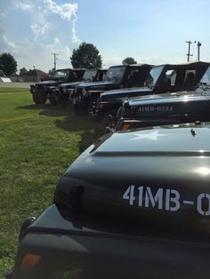 First meet and Greet for the Willys Edition Family.