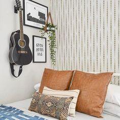 Design a Bedroom Accent Wall using Cutting Edge Stencils DIY Stencil Patterns