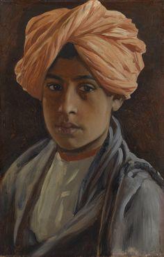 Ghulam Hassan (1886-1888,  Rudolf Swoboda (1859-1914)
