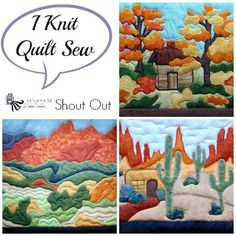 Shout Out I Knit Quilt Sew