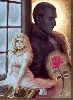 Beauty and the Beast by the-untempered-prism on @DeviantArt