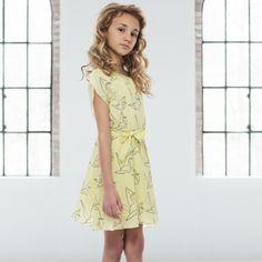 Drew Dress by Pale Cloud at Shop Belle http://shopbelle.com/girls/girls-dresses-skirts.html