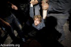 Police besieging event commemorating the Nakba, Tel Aviv, Israel, 25.04.2012 by activestills, via Flickr