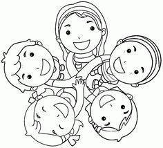 friendship coloring pages - Friendship Coloring Pages