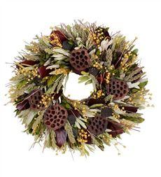 """18"""" dia. Festive Woodlands Indoor Wreath"""