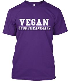 VEGAN - #FORTHEANIMALS - 100% profit goes towards local sanctuaries and the toronto pig save| Teespring