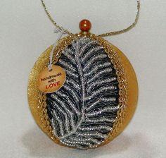 Shabby Chic Christmas Ball 35 by ShabbyChicXmas on Etsy Christmas Balls, Christmas Tree Ornaments, Styrofoam Ball, Shabby Chic Christmas, Fabric Beads, Coin Purse, Pendant Necklace, Etsy, Jewelry