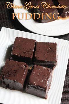 YUMMY TUMMY: Chocolate China Grass Pudding Recipe - Chocolate Agar Agar Desert Recipe