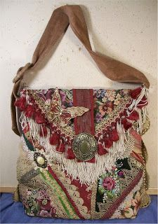 Bags   Handbag Trends   This is a step by step tutorial on how Susie Wolfe  and I made our BoHo bags. f47ba3b1fb