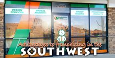 Minuteman Press Franchise Review - Advantages to Franchising in the Southwest - learn more about Minuteman Press franchise opportunities at http://www.minutemanpressfranchise.com