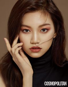 ASK K-POP Weki Meki's Kim Doyeon recently participated in a photo shoot with Cosmopolitan magazine Asian Eye Makeup, Korean Makeup, Korean Beauty, Asian Beauty, Makeup Inspo, Makeup Inspiration, Beauty Makeup, Hair Makeup, Kpop Girl Groups