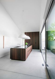 When a kitchen becomes an architectural volume